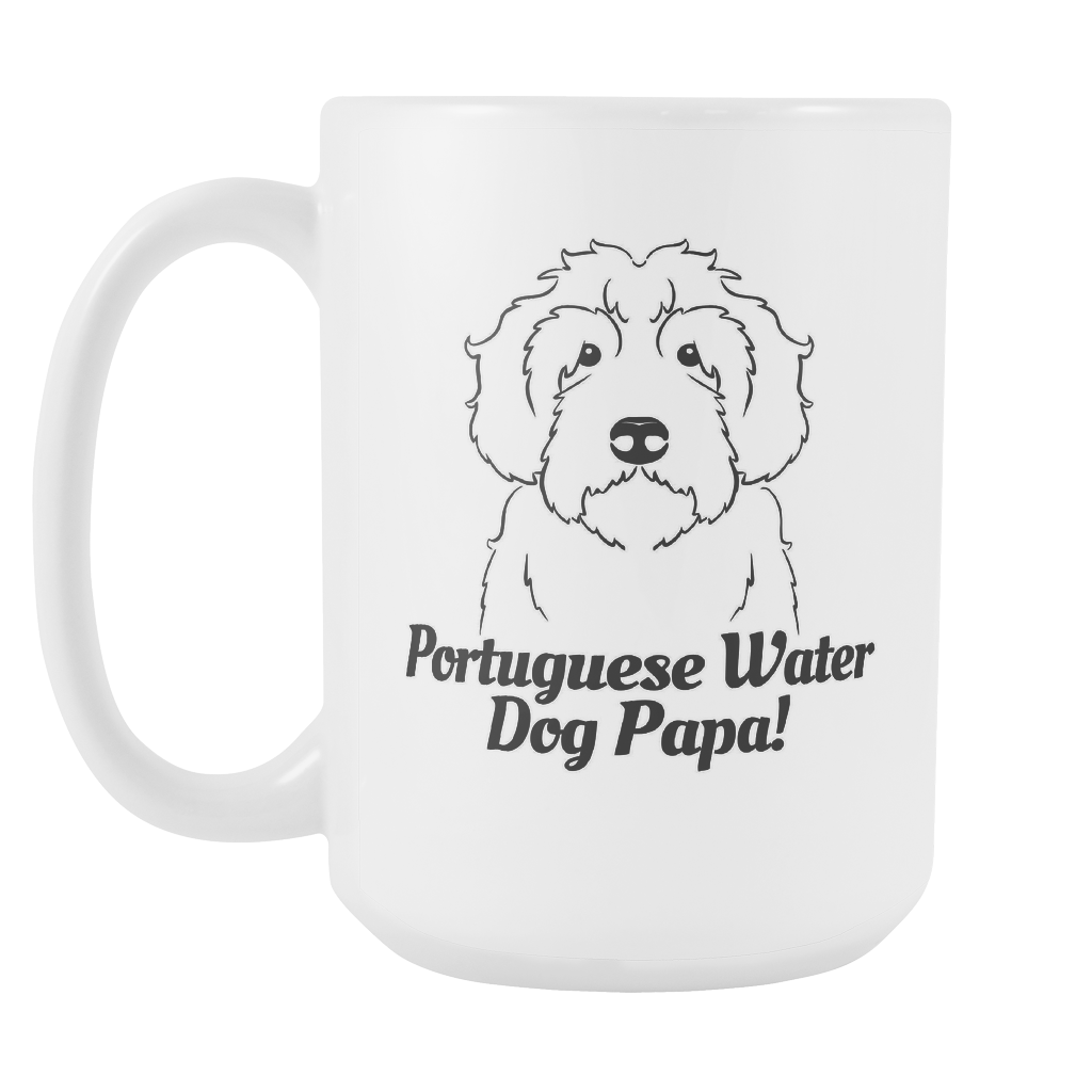 Portugese Water Dog Papa! Coffee Mug