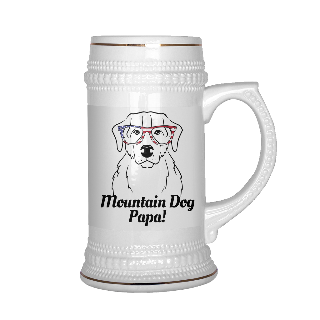 Bernese Mountain Dog Papa! Beer Stein