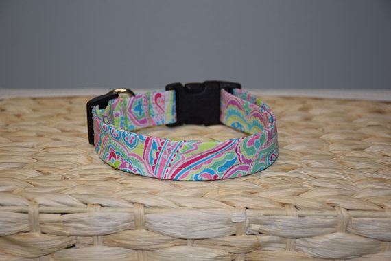 Bright Paisley Collar