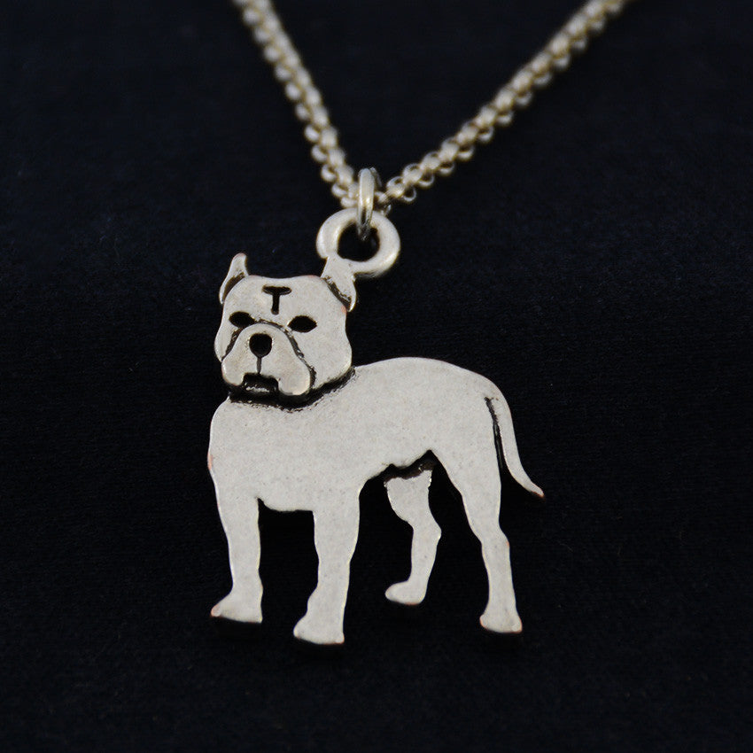 American Bully Vintage Necklace
