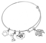 Samoyed Bangle Bracelet