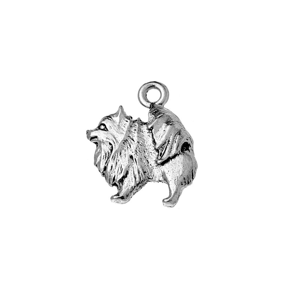 Keeshond Antique Charm