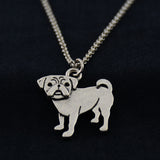 Pug Vintage Necklace