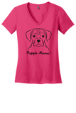 Puggle Mama Ladies T-Shirt (Shirts Run Small)