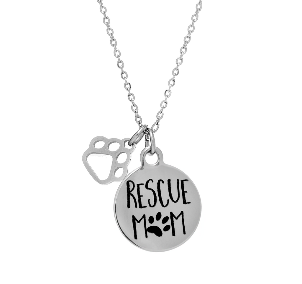 'Rescue Mom' Necklace