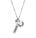 Personalized Pet Mom Necklace (Choose either