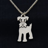 Schnauzer Vintage Necklace