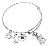 Schnauzer Bangle Bracelet