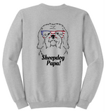 Old English Sheepdog Papa Sweatshirt