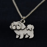 Shih Tzu Vintage Necklace