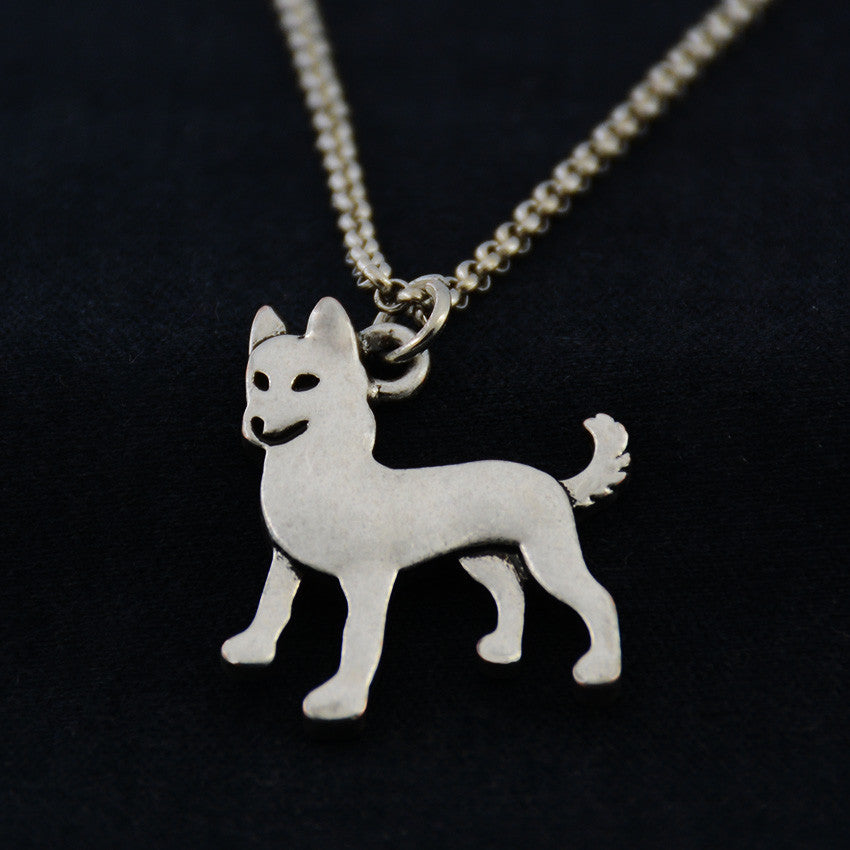 Alaskan Malamute Vintage Necklace