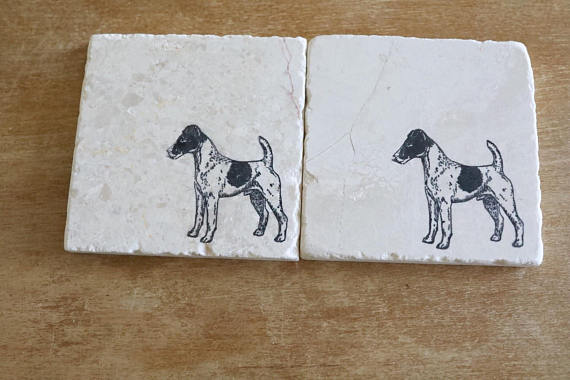 Fox Terrier (Smooth Coat) Coasters