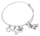 St. Bernard Bangle Bracelet