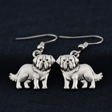 St. Bernard Vintage Earrings