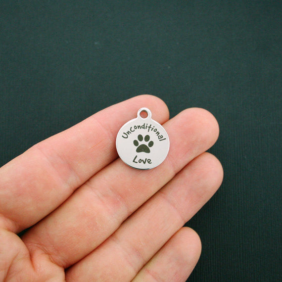 Small Unconditional Love Charm