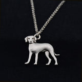 Catahoula Leopard Dog Vintage Necklace