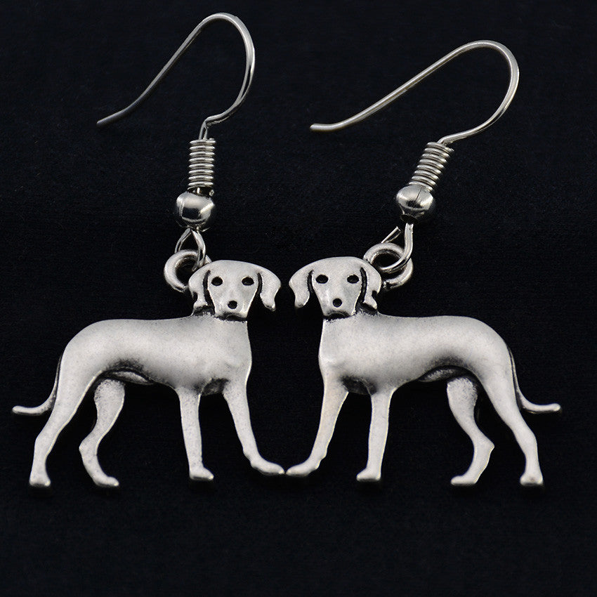 Rhodesian Ridgeback Vintage Earrings