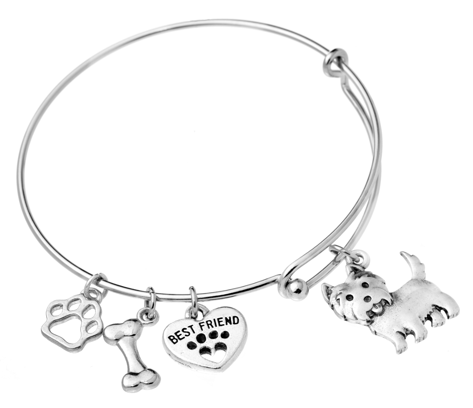 Cairn Terrier Bangle Bracelet