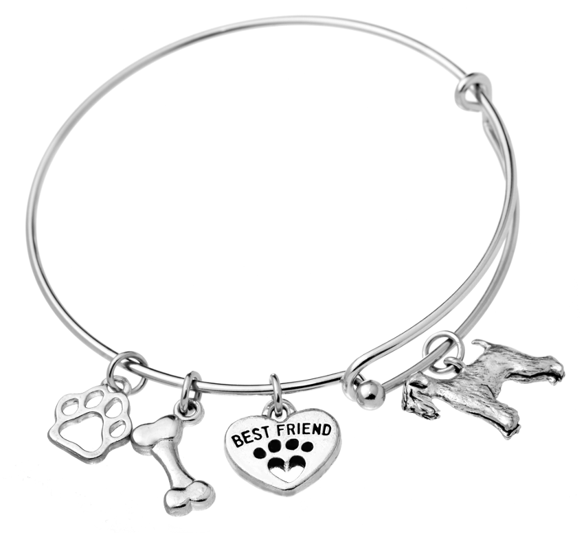 Welsh Terrier Bangle Bracelet