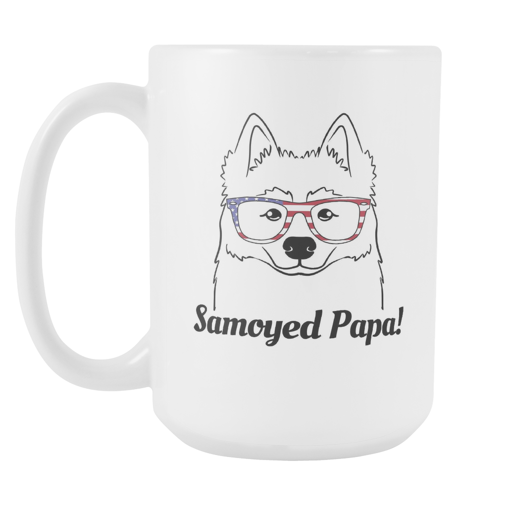 Samoyed Papa! Coffee Mug