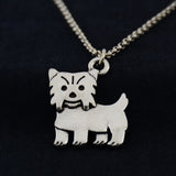 Yorkie Vintage Necklace