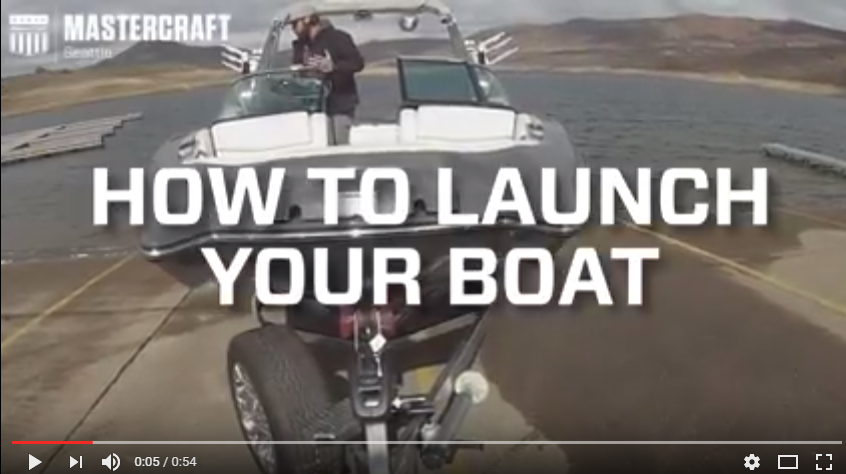 HOW TO LAUNCH A BOAT