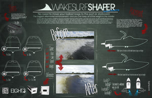 How Wakesurf Shapers work.