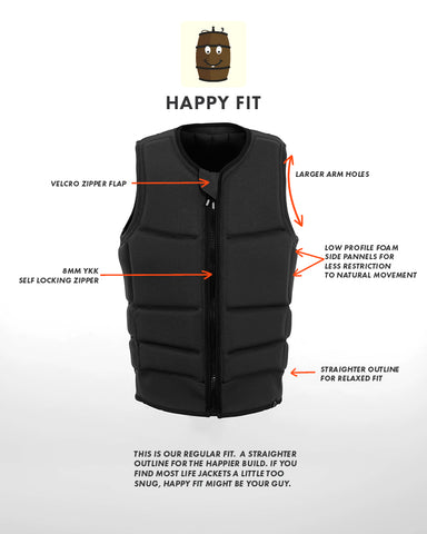 follow | Happy Fit Vest Features