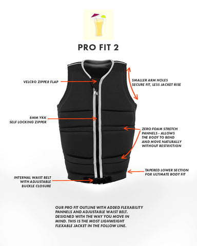 follow | Pro Cut 2 Vest Features