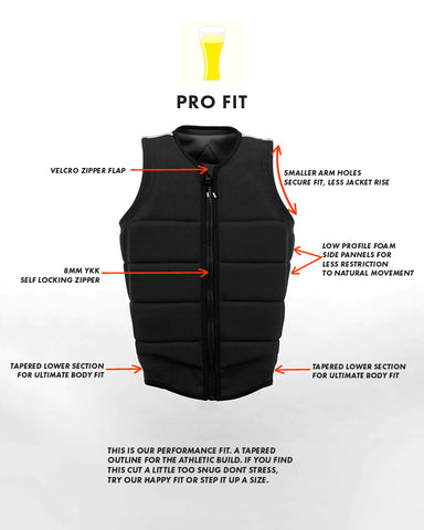 follow | Pro Cut Vest Features