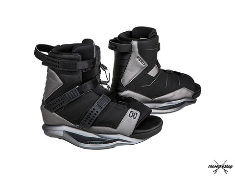 Ronix Anthem Wakeboard Boot - Black / Black Chrome