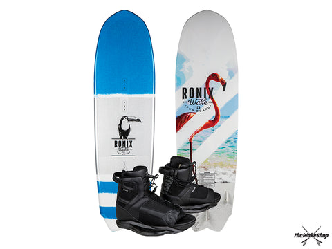 Ronix Fun Board w/ Divide Boots - Wakeboard