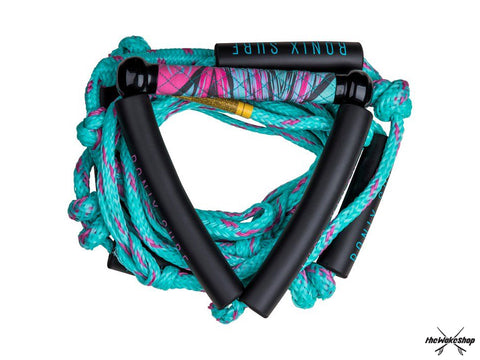 "Ronix 10"" Surf Handle + 25 ft Bungee Surf Rope - Women's"