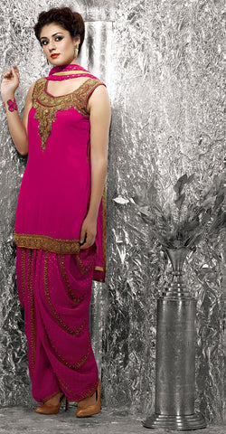 Women Anarkali Suit  B17-10