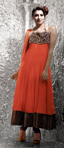 Women Anarkali Suit  B17-11