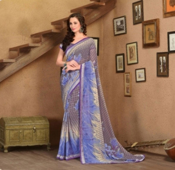 Women Daily Wear Saree BR-2084-3945