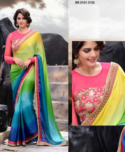 Party Wear Sarees BR-2151-3122