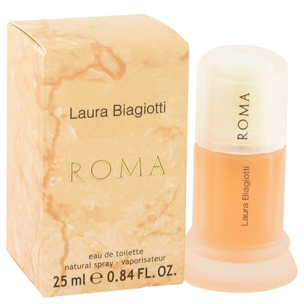 Roma By Laura Biagiotti Eau De Toilette Spray .85 Oz