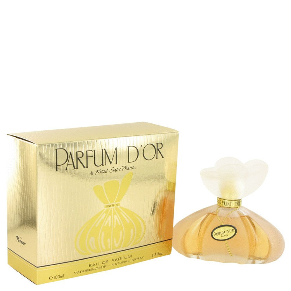 Parfum D'or By Kristel Saint Martin Eau De Parfum Spray 3.4 Oz