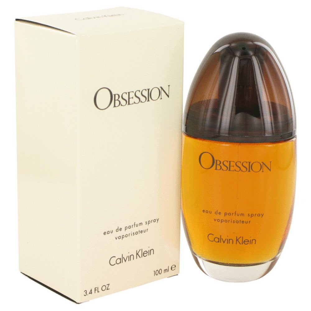Obsession By Calvin Klein Eau De Parfum Spray 3.4 Oz