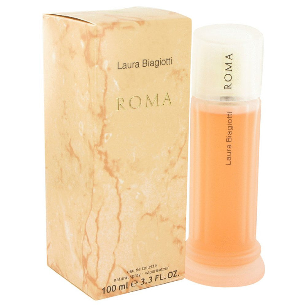 Roma By Laura Biagiotti Eau De Toilette Spray 3.4 Oz