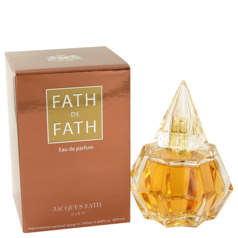 Fath De Fath By Jacques Fath Eau De Parfum Spray 3.4 Oz