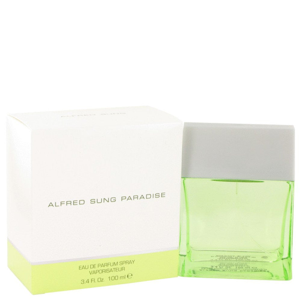 Paradise By Alfred Sung Eau De Parfum Spray 3.4 Oz