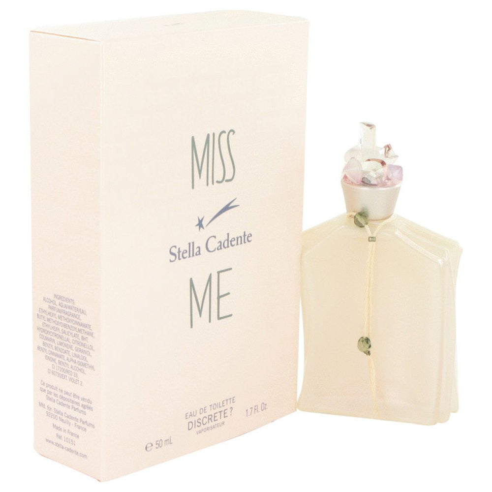 Miss Me Discrete By Stella Cadente Eau De Toilette Spray 1.7 Oz
