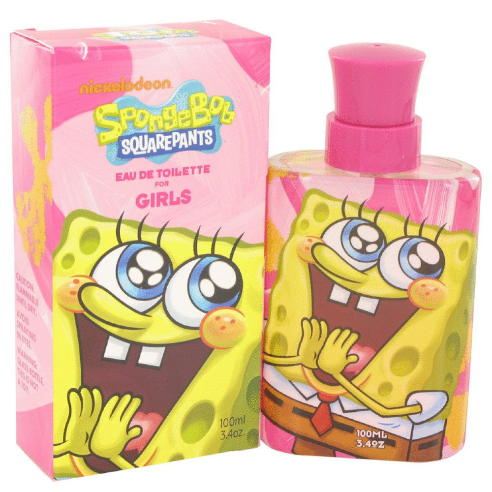 Spongebob Squarepants By Nickelodeon Eau De Toilette Spray 3.4 Oz
