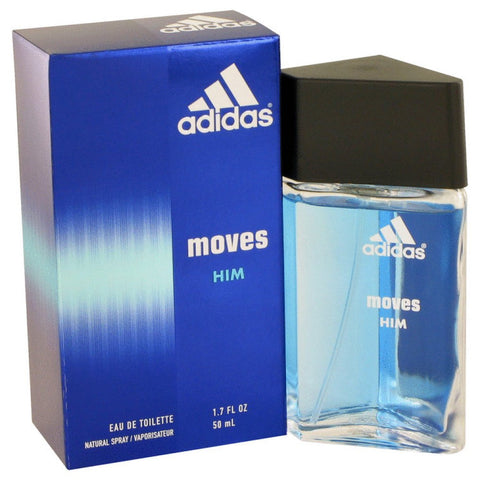 Adidas Moves By Adidas Eau De Toilette Spray 1.7 Oz
