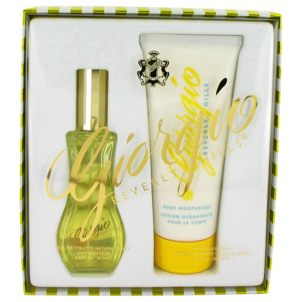 Giorgio By Giorgio Beverly Hills Gift Set -- 3 Oz Eau De Toilette Spray + 6.8 Oz Body Lotion