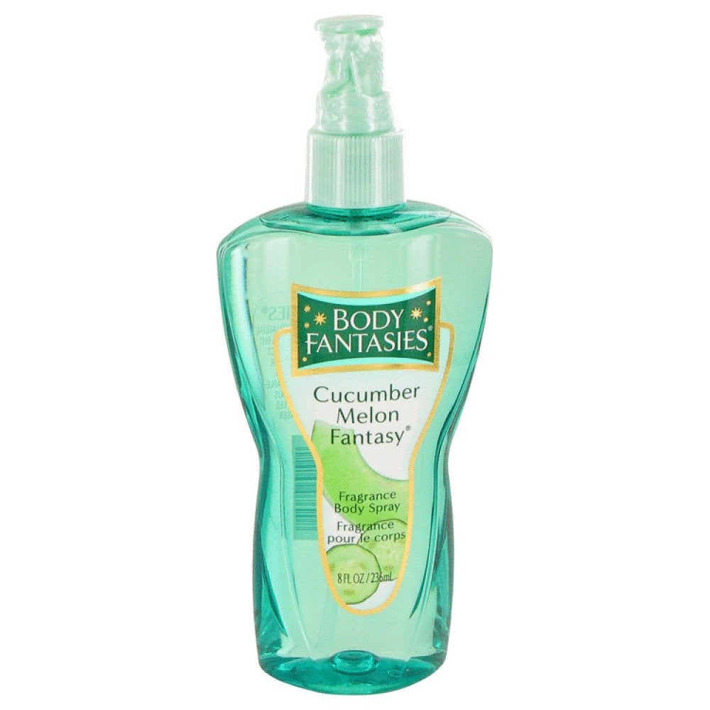Body Fantasies Cucumber Melon Fantasy By Parfums De Coeur Body Spray 8 Oz
