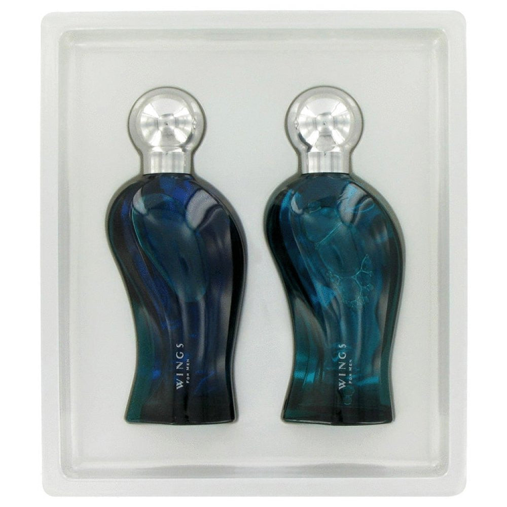 Wings By Giorgio Beverly Hills Gift Set -- 3.4 Oz Eau De Toilette Spray + 3.4 Oz After Shave