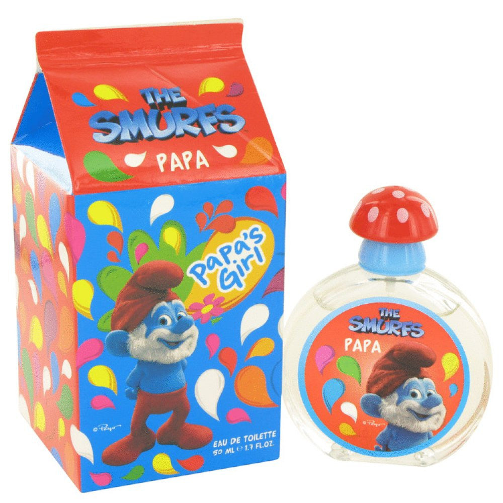 The Smurfs By Smurfs Papa's Girl Eau De Toilette Spray 1.7 Oz